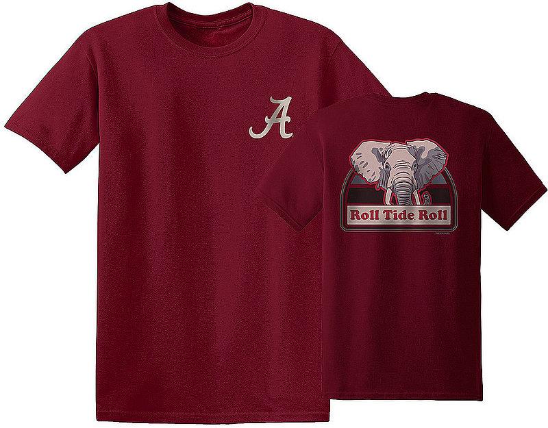 Alabama Crimson Tide Tshirt Portrait