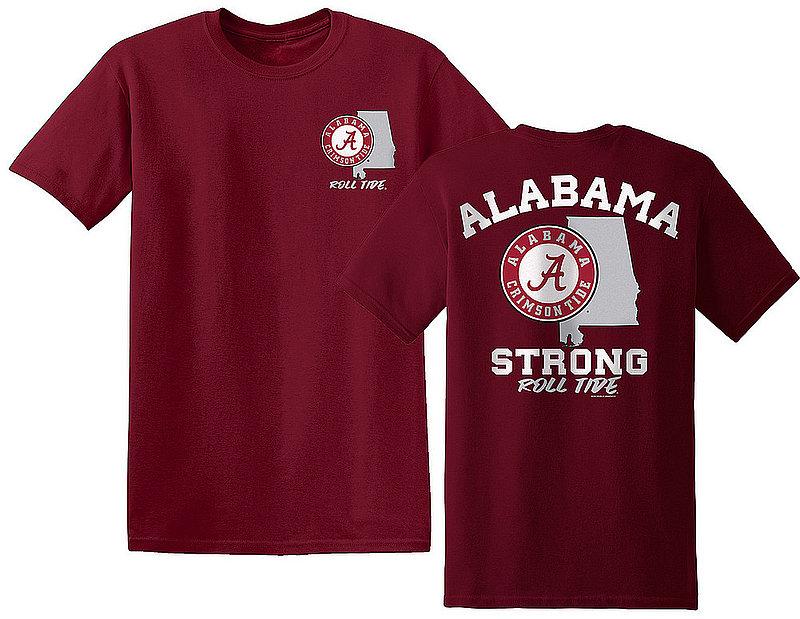 Alabama Crimson Tide Tshirt State Strong ALAStateStrong