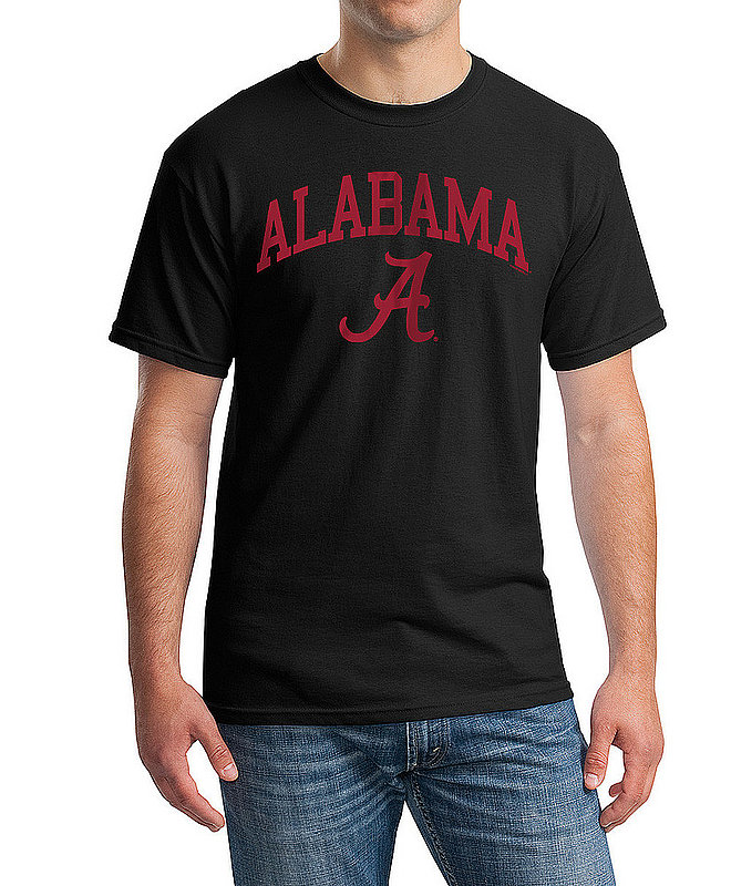 Alabama Crimson Tide TShirt Varsity Black APC03006960