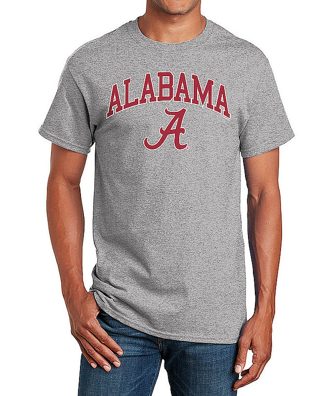 Alabama Crimson Tide TShirt Varsity Gray APC02971688