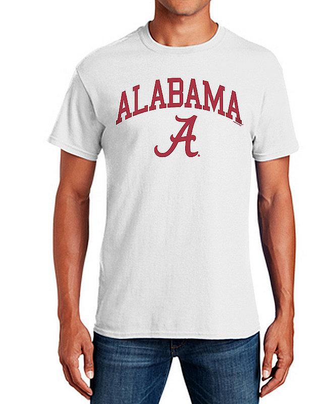 Alabama Crimson Tide TShirt Varsity White APC03006381