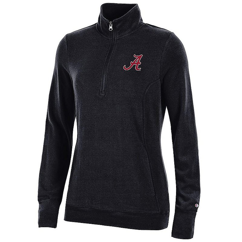 Alabama Crimson Tide Women's Quarter Zip Black APC03319928