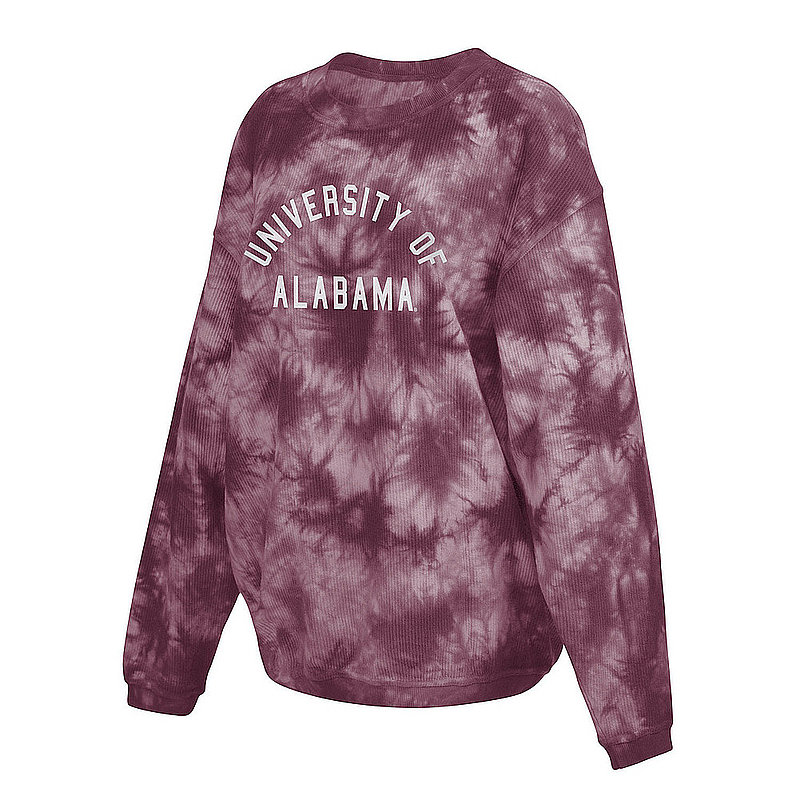 Alabama Crimson Tide Women's Tie-Dye Corded Crewneck Sweatshirt 443-51-AL520