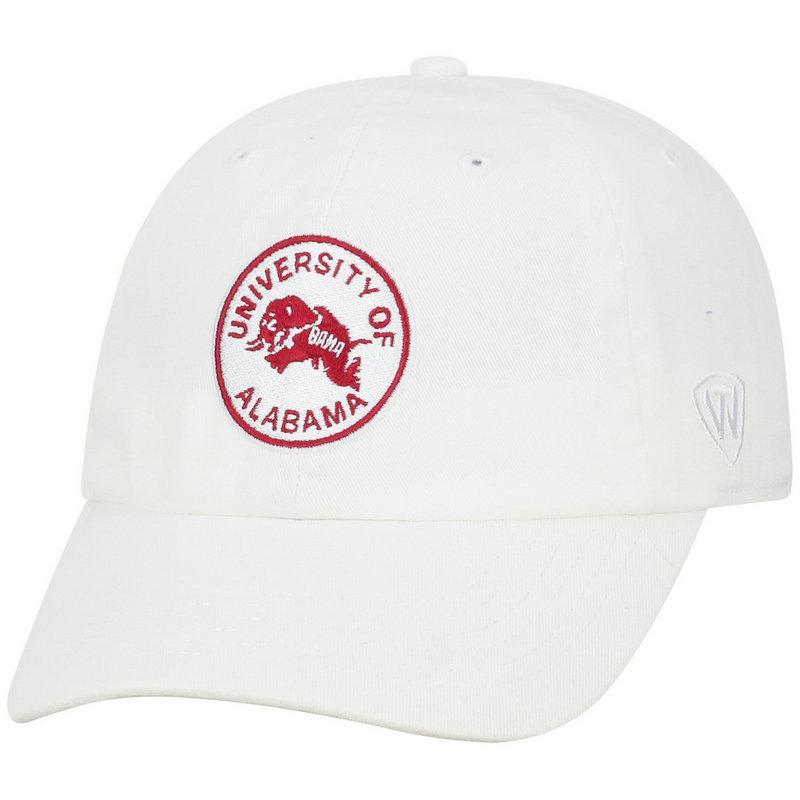 Alabama Crimson Tide Womens Hat White CHAMP-AL-ADW-WHT4