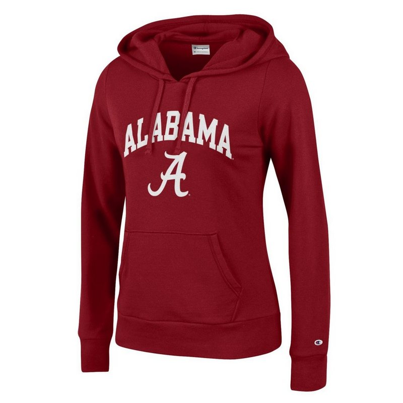 Alabama Crimson Tide Womens Hooded Sweatshirt Cardinal APC03151559