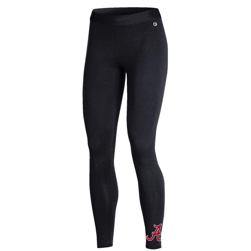 Alabama Crimson Tide Womens Leggings Black APC03318872