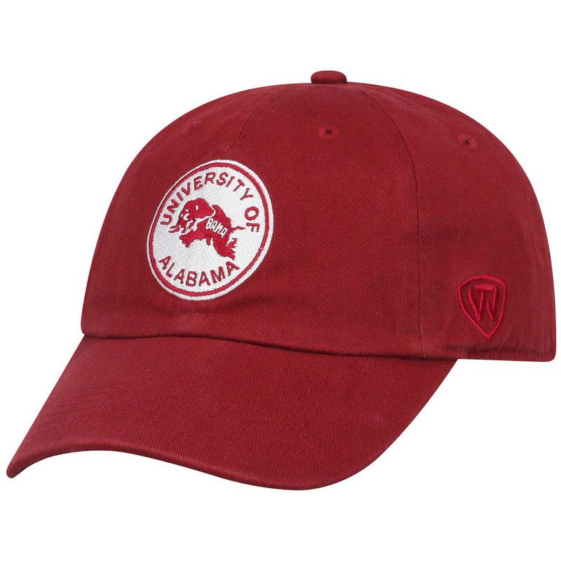 Alabama Crimson Tide Womens Vintage Hat Crimson CHAMP-AL-ADW-TMC4