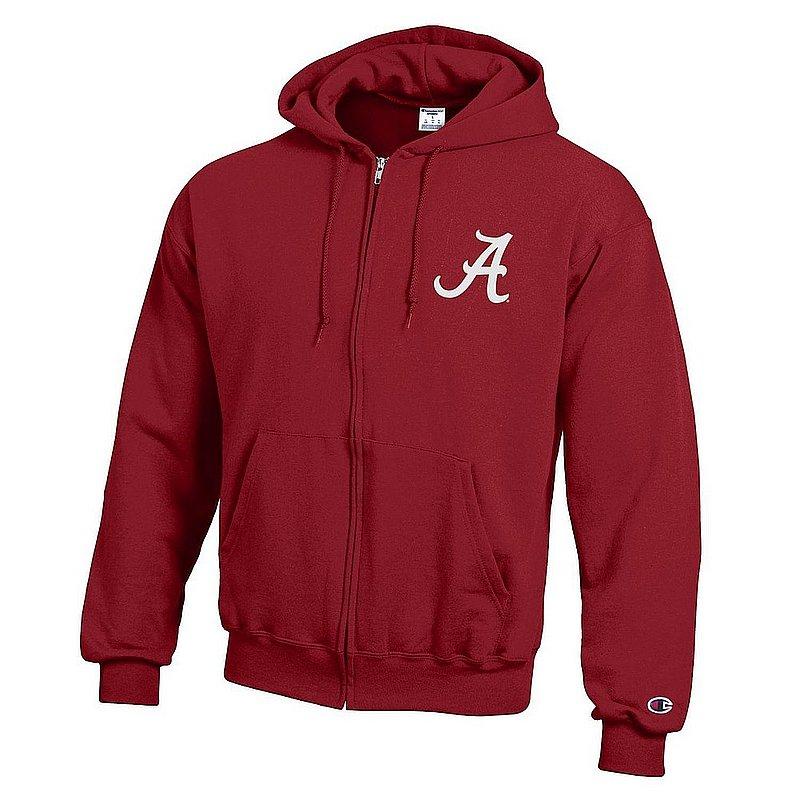 Alabama Crimson Tide Zip Up Hoodie Sweatshirt Captain Team APC03419966