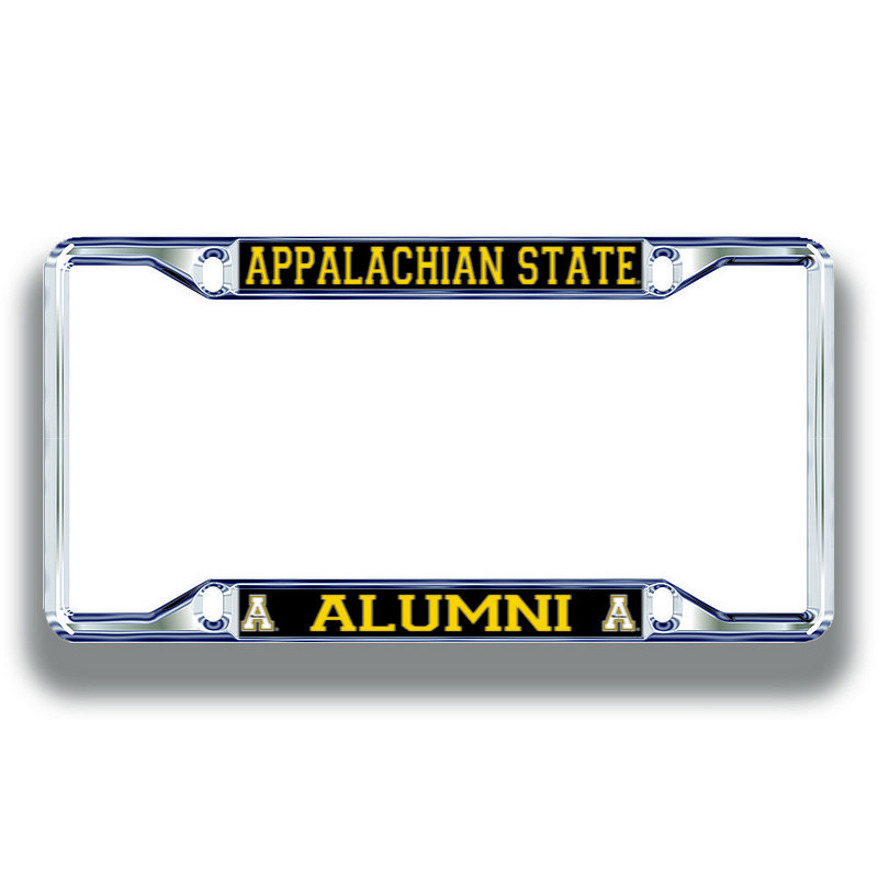 Appalachian State Mountaineers License Plate Frame Alumni 02911