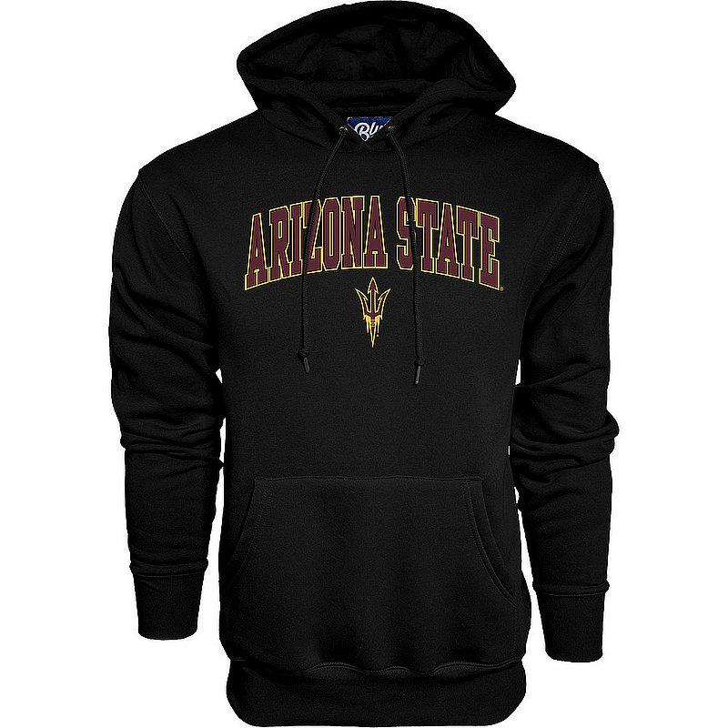 Arizona State Sun Devils Hooded Sweatshirt Varsity Black