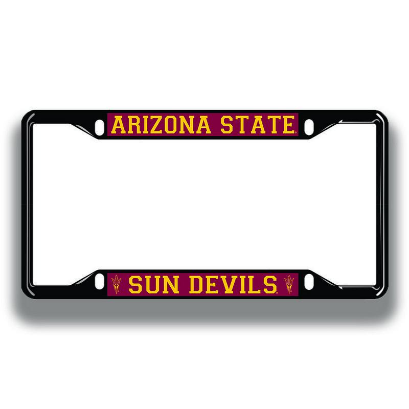 Arizona State Sun Devils License Plate Frame Black 26748