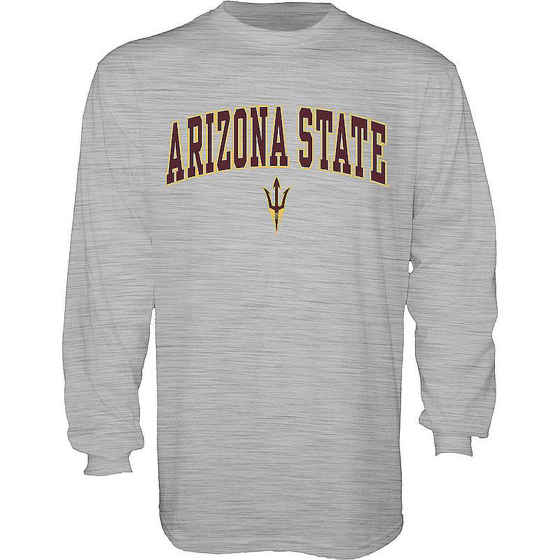 Arizona State Sun Devils Long Sleeve TShirt Varsity Gray 00000000BCRM5