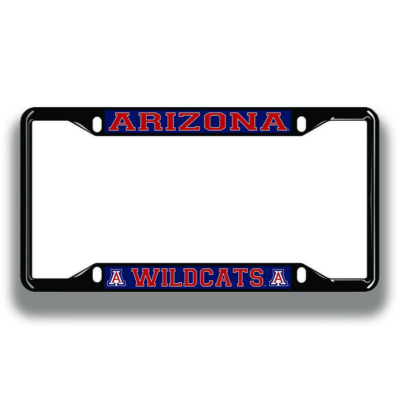 Arizona Wildcats License Plate Frame Black 28632