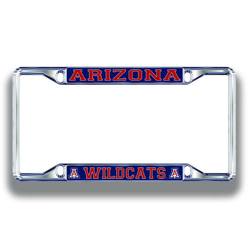 Arizona Wildcats License Plate Frame Silver 28631