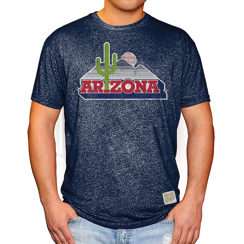 Arizona Wildcats Retro TShirt Navy RB124