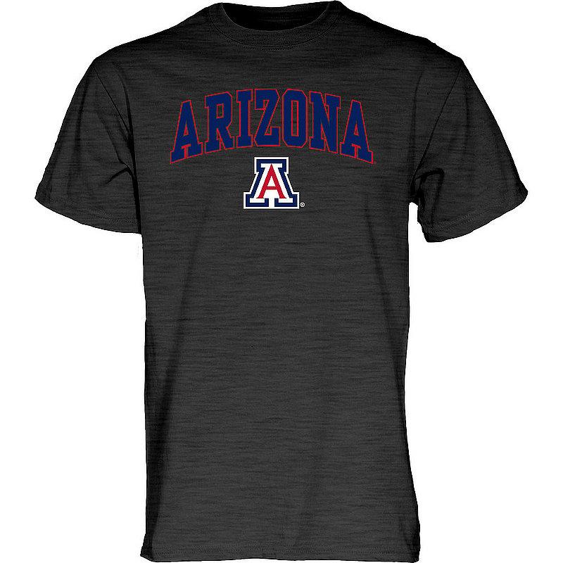 Arizona Wildcats TShirt Varsity Charcoal Arch Over APC02969704*