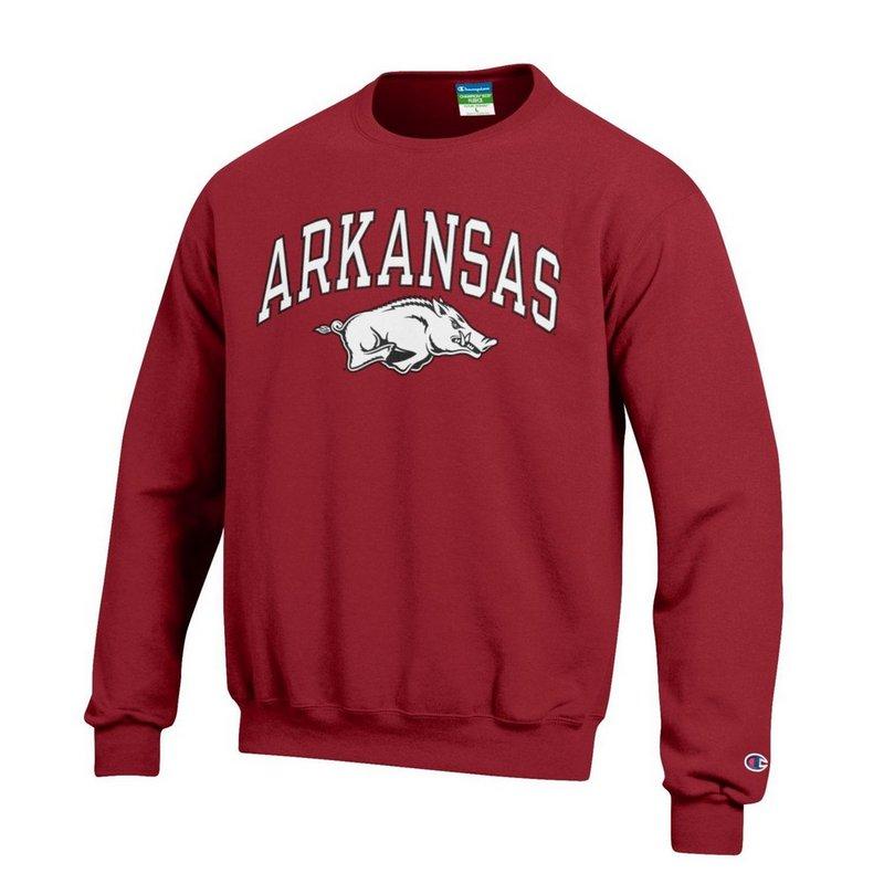 Arkansas Razorbacks Crewneck Sweatshirt Varsity Cardinal APC02888572