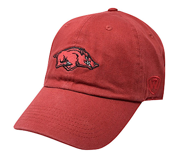 Arkansas Razorbacks Hat Icon Red
