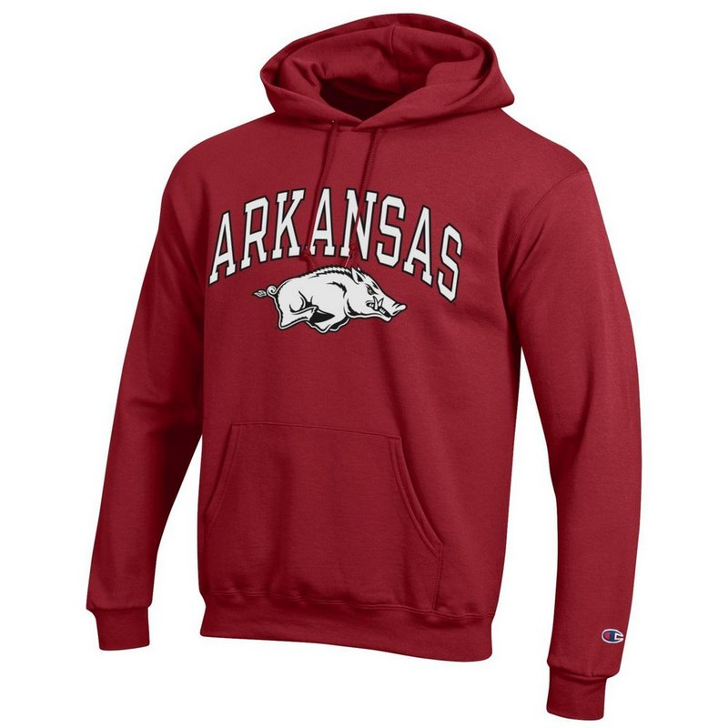 Arkansas Razorbacks Hooded Sweatshirt Varsity Cardinal APC02888572
