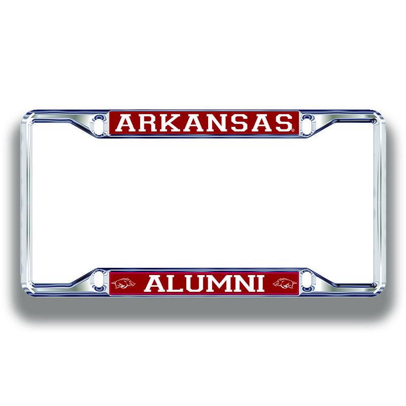 Arkansas Razorbacks License Plate Frame Alumni 11278