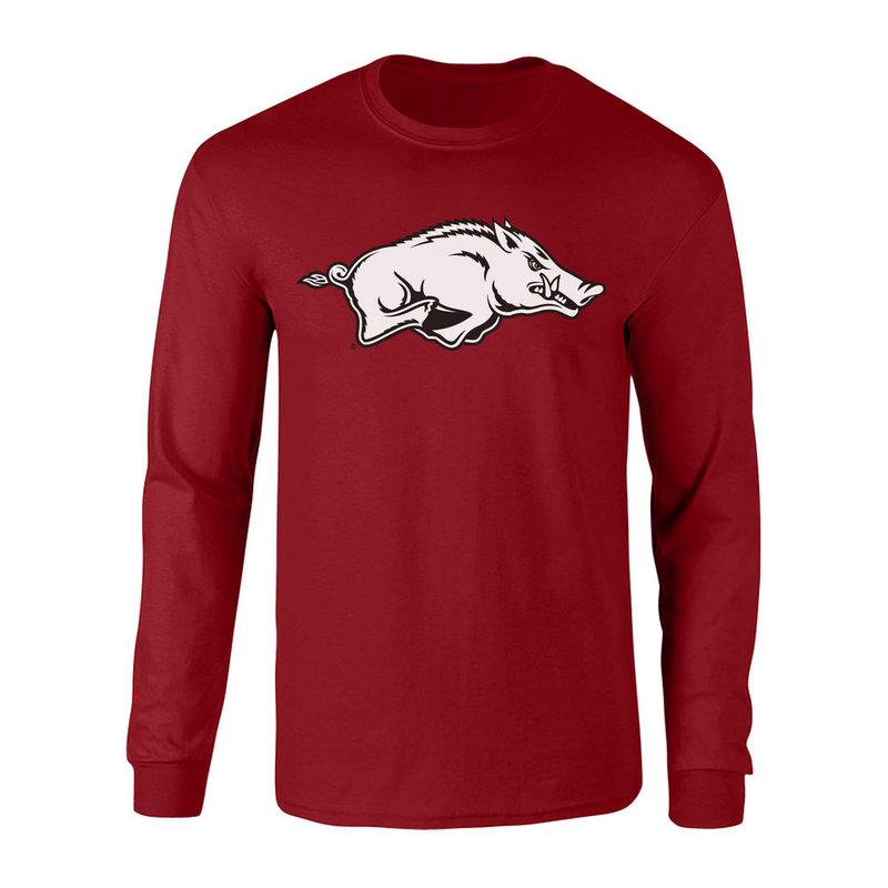Arkansas Razorbacks Long Sleeve Tshirt Cardinal P0006422