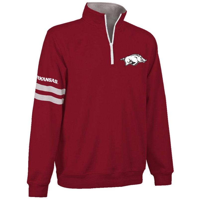Arkansas Razorbacks Quarter Zip Sweatshirt ARK9A680