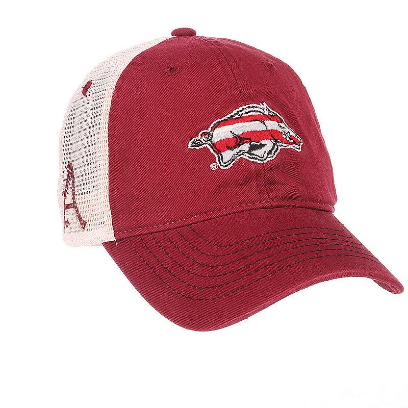Arkansas Razorbacks Trucker Hat ARKCNT0020