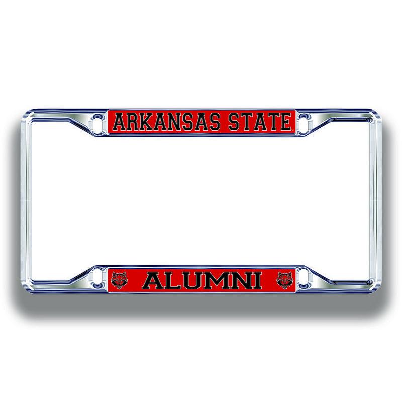 Arkansas State Red Wolves License Plate Frame Alumni 02254