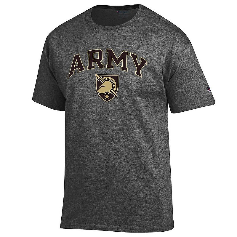 Army Knights TShirt Charcoal Arch Over APC03002457*