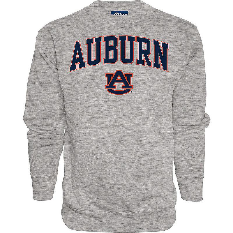 Auburn Tigers Crewneck Sweatshirt Varsity Gray Arch Over BCR2M
