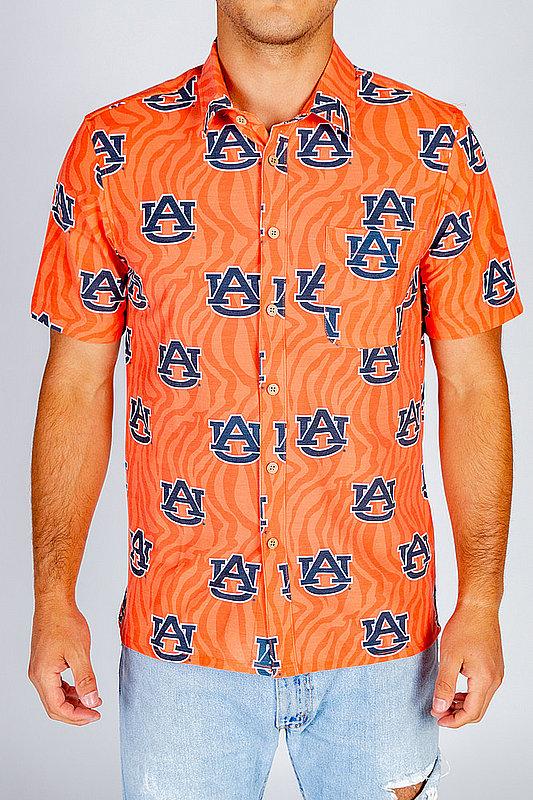 Auburn Tigers Hawaiian Shirt MPL-SRWQ319-LS1695