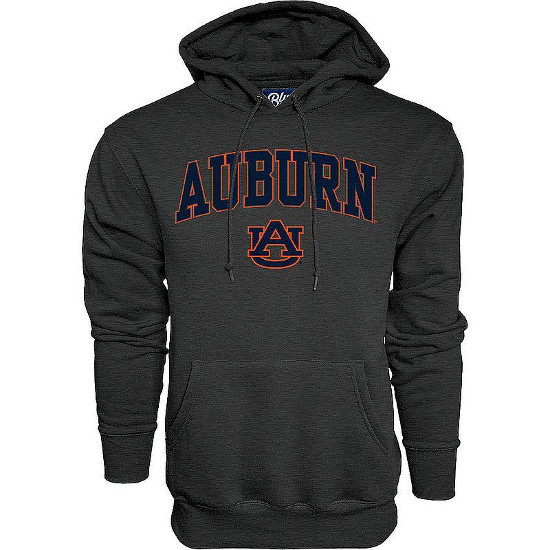 Auburn Tigers Hooded Sweatshirt Varsity Charcoal Arch Over APC02879947*