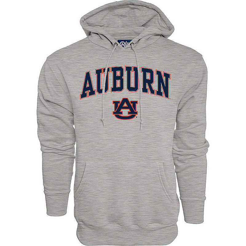 Auburn Tigers Hooded Sweatshirt Varsity Gray Arch Over BCR2M