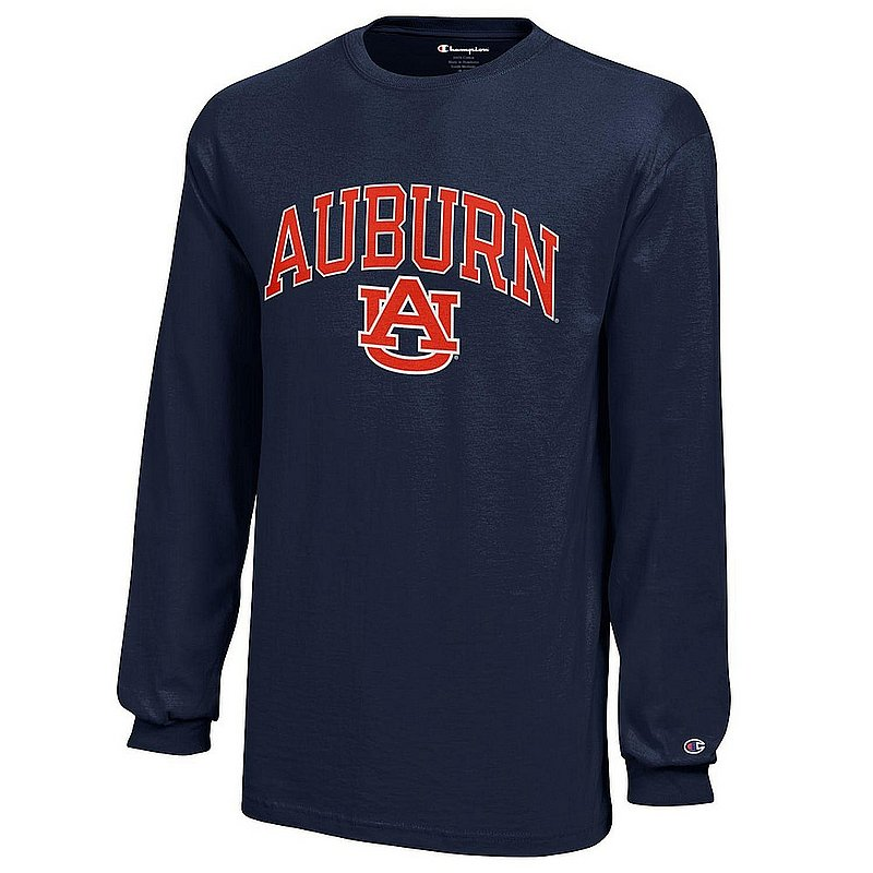 Auburn Tigers Kids Long Sleeve TShirt Navy APC03010579
