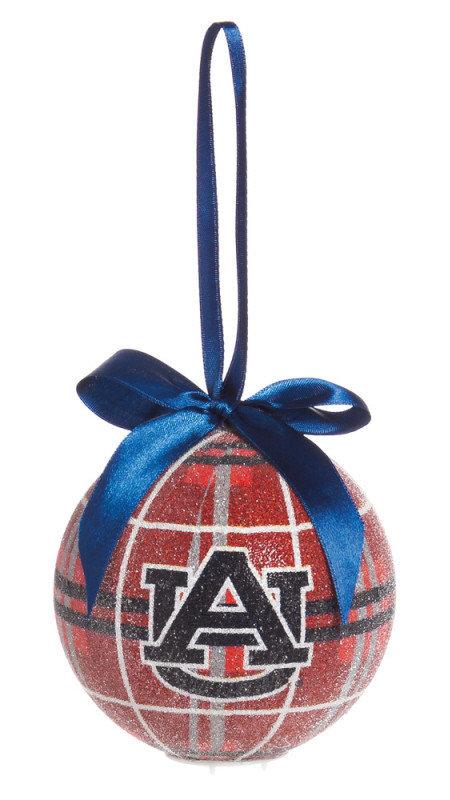 Auburn Tigers LED Christmas Ornament