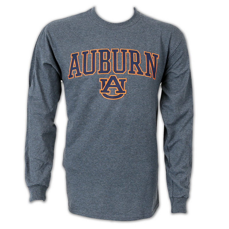Auburn Tigers Long Sleeve Shirt Charcoal