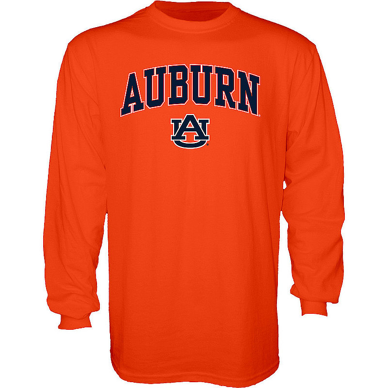 Auburn Tigers Long Sleeve Tshirt Varsity Orange APC02879947