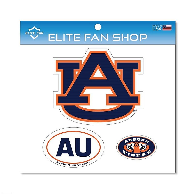 Auburn Tigers Magnet 3-Pack
