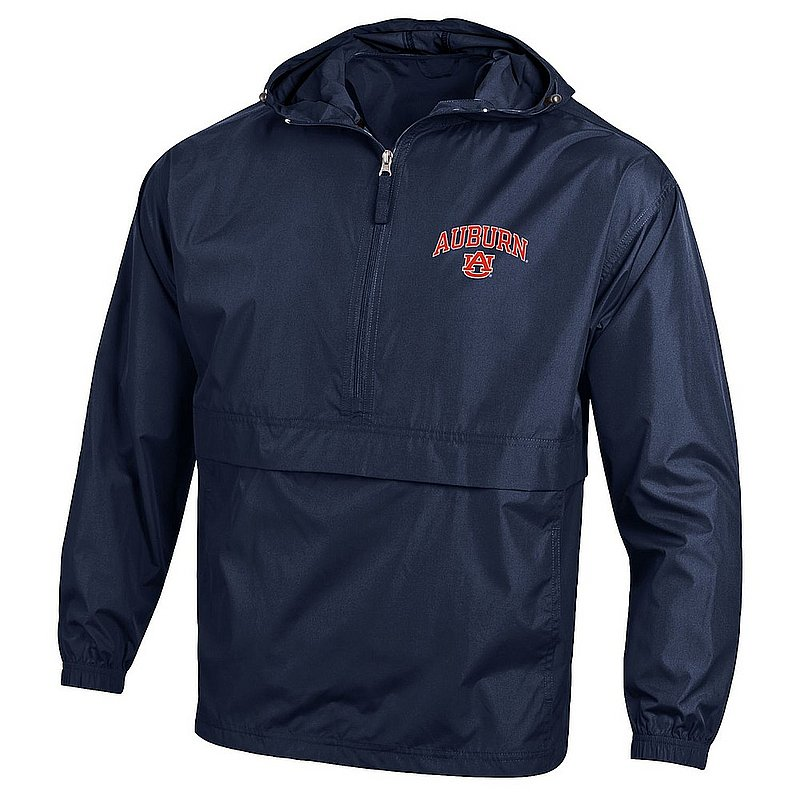 Auburn Tigers Packable Jacket Navy APC02973416