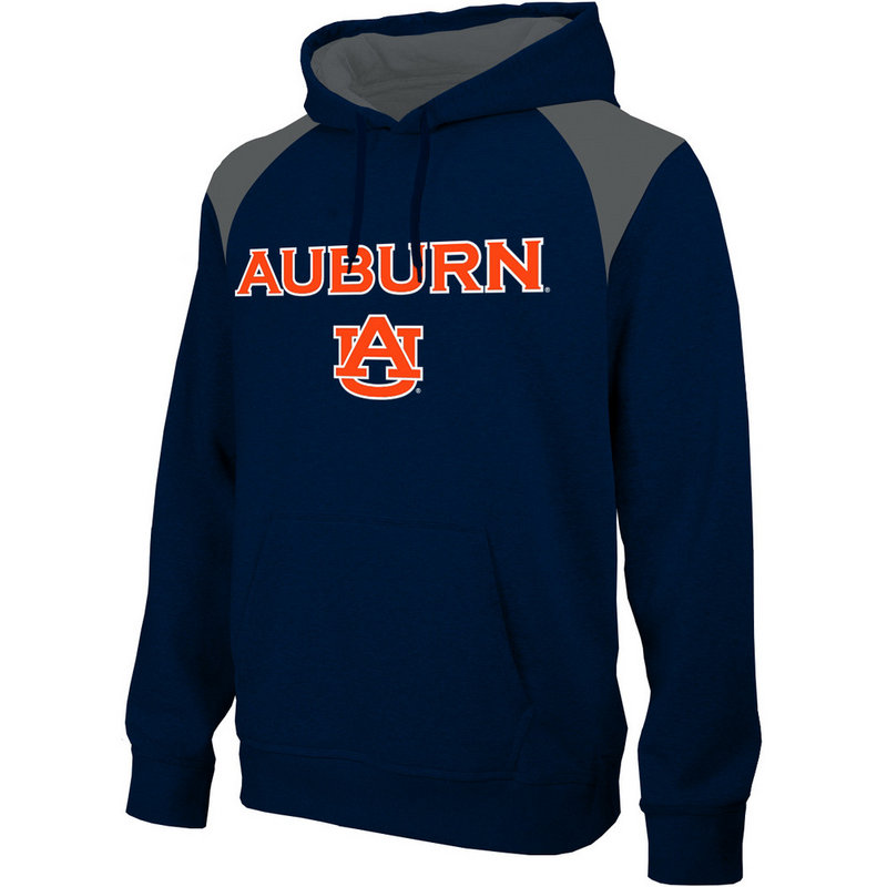 Auburn Tigers Performance Hooded Sweatshirt Captain Navy AUB4P697