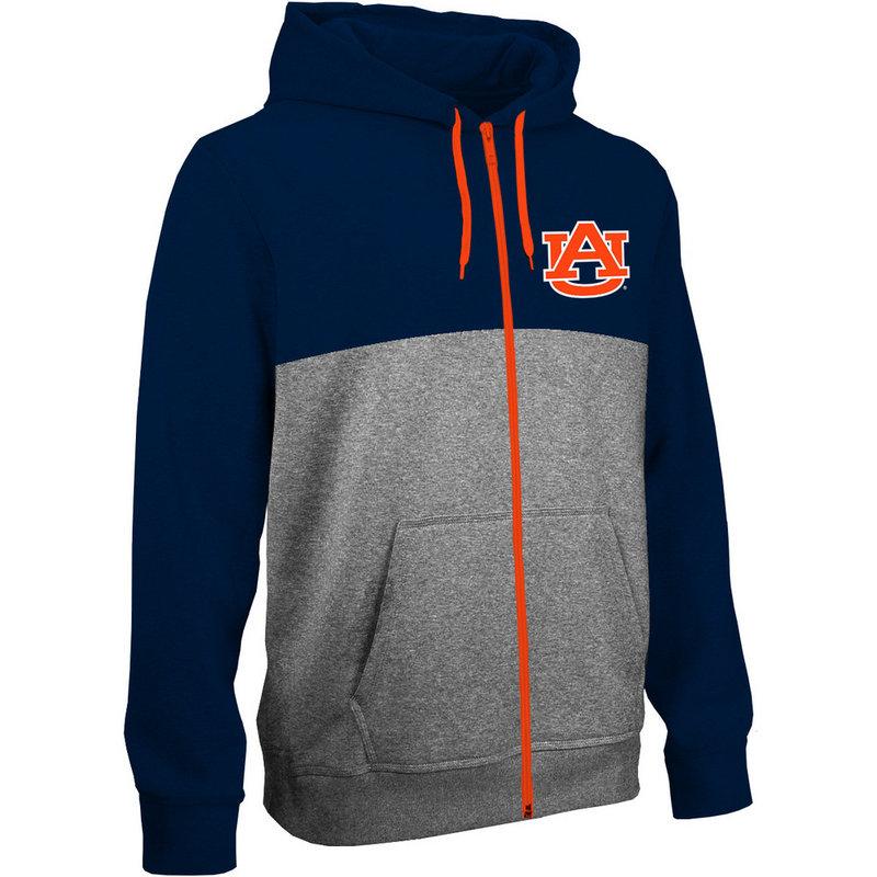 Auburn Tigers Poly Full Zip Hooded Sweatshirt AUB6P667
