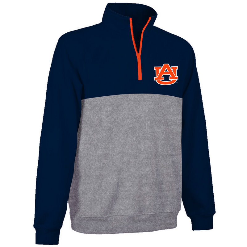 Auburn Tigers Poly Quarter Zip Sweatshirt AUB9P667