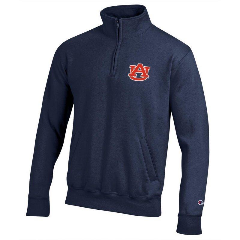Auburn Tigers Quarter Zip Sweatshirt Navy AUB9A701/APC03197421