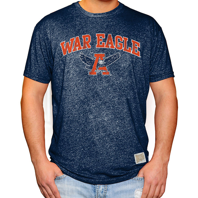 Auburn Tigers Retro TShirt Navy RB124