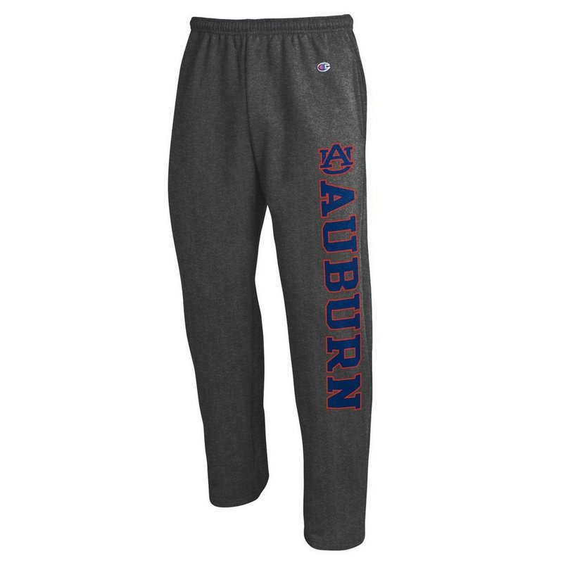 Auburn Tigers Sweatpants Pockets Charcoal APC02886228
