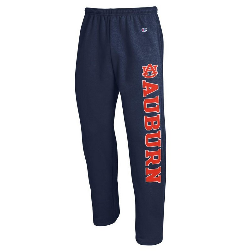 Auburn Tigers Sweatpants Pockets Navy APC02886228