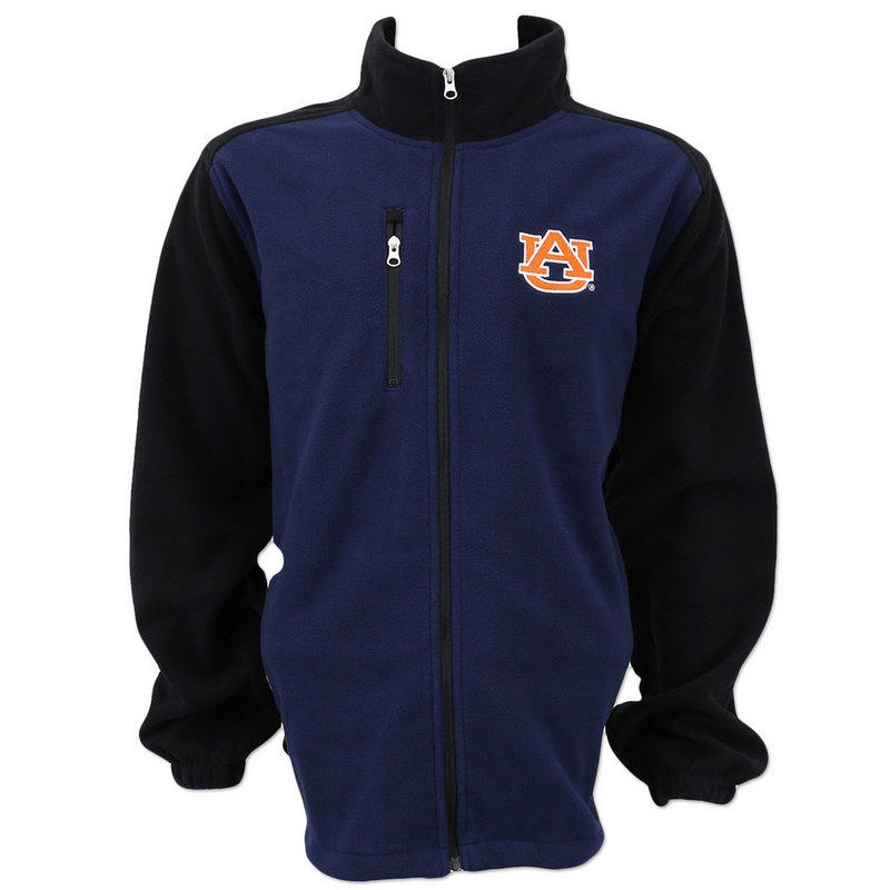 Auburn Tigers Tactical Polar Fleece Full Zip Navy K 80NWK 92