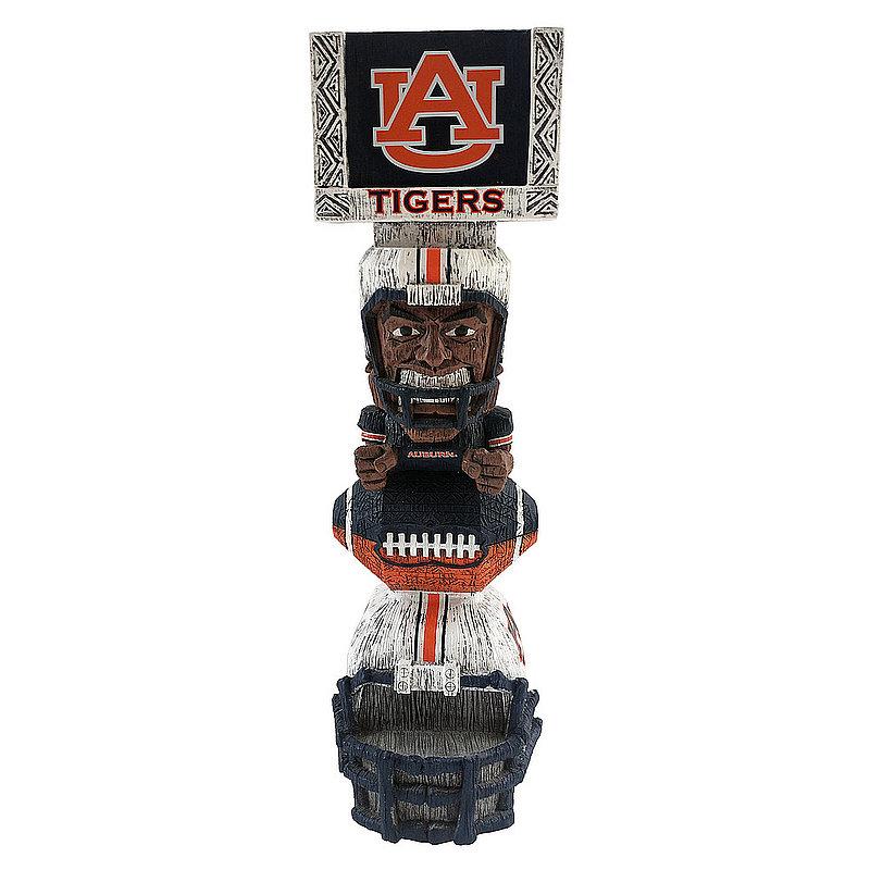 """Auburn Tigers Tiki Totem Figurine 14.5"""" TKNCSTKAU"""