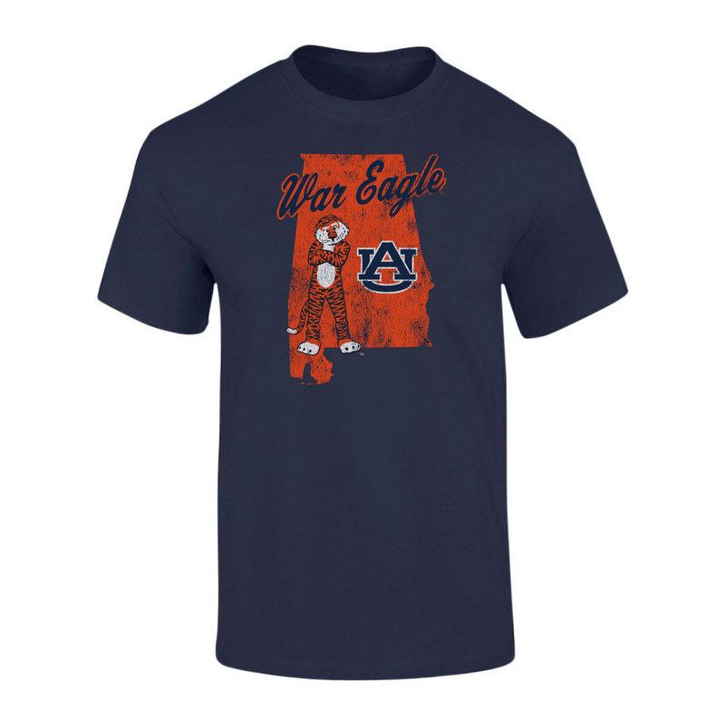 Auburn Tigers TShirt Navy P0006201