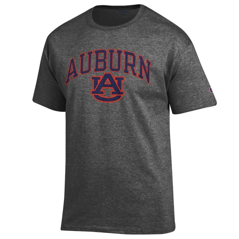 Auburn Tigers TShirt Varsity Charcoal APC02879947